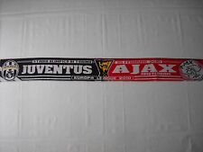 sciarpa AJAX - JUVENTUS europa league 2010 football club calcio scarf