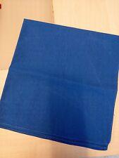 Foulard carré bleu 55cm