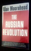 ALAN MOOREHEAD - THE RUSSIAN REVOLUTION - 1ST ED. - 1958 - BRODART COVER.