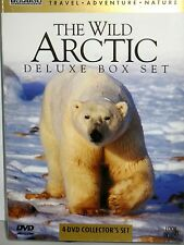 The Wild Arctic Deluxe Box Set  4 DVDS BOX $29, HD TV, EDUCATIONAL FREE SHIP