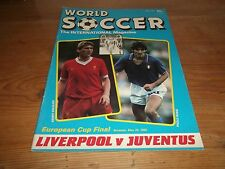 Football Magazine World Soccer May 1985 Liverpool Juventus Bayern Munich Everton
