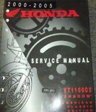 2002 2003 2004 2005 Honda VT1100C2 Schatten Aero Service Manuell Neu Fabrik OEM