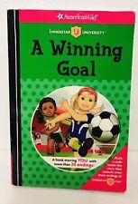 A Winning Goal Innerstar University American Girl Book Soccer Choose The Ending
