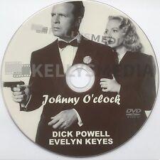 JOHNNY O'CLOCK (1947) DICK POWELL & EVELYN KEYES ON DVD FILM NOIR DRAMA CRIME