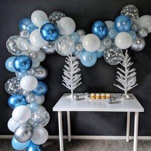 AU Christmas Balloon Arch Garland Kit Set Latex Snowflake Party Balloons Decor
