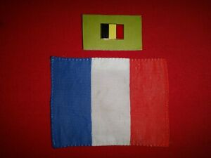 French National Flag FRANCE Metal Badge And Patch