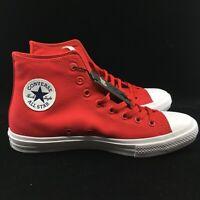 Converse All Star Chuck Taylor CTAS II Hi High Salsa Red White 150145C Lunarlon