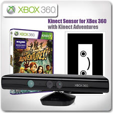 XBox 360: Kinect Sensor with Kinect Adventures *in Good Working Condition*
