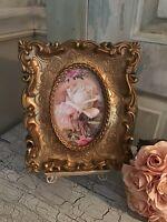 Beautiful Ornate Photo Frame. Rich Gold Tones