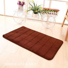 Soft Absorbent Memory Foam Bath Bedroom Bathroom Floor Shower Mat Rug Non-slip