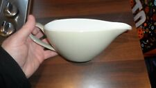 VINTAGE JOHNSON BROS GRAVY BOAT LIGHT OLIVE BEIGECOLOUR USED VGC MADE IN ENGLAND