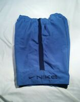 Vtg Nike Shorts Lined Spellout Athletic Track Basketball Men's Size XL