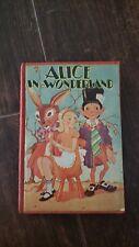 New listing Antique Alice In Wonderland Book
