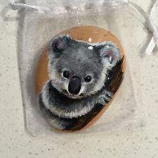 Handpainted Koala Rock