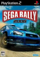 Sega Rally 2006 First Print Limited Edition