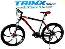 """Trinx Mountain Bike Alloy 26"""" Magnesium Wheels 24 Shimano Gears Lock out Forks"""