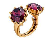 NIB $275 Oscar de la Renta Pear Stone Ring