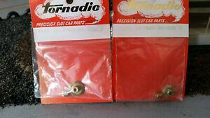 TORNADIC Slot Car  Double Bevel Gear Set 3.5:1 & 3:1 1/8th Set Screw