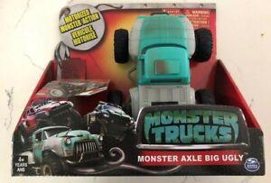 Spin Master Monster Trucks Movie Monster Axle Big Ugly Motorized