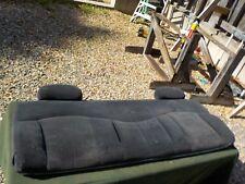 2000 Chevy Silverado 1500 ext cab truck cloth rear bench seat back cushion
