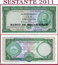 MOZAMBIQUE  MOZAMBICO - 100 ESCUDOS 27.3. 1961 (1976)  - P 117 - FDS / UNC