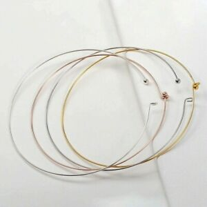 Copper Wire Hoop Collar for DIY Jewelry Making Necklace Metal Choker collar