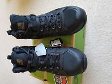 MENS BNWB KARRIMOR HELIUM BLACK WATERPROOF WALKING BOOTS SIZE 10