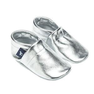 Pantau Lauflernschuhe Krabbelschuhe Babyschuhe Lederpuschen in Unifarben