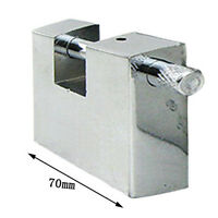 Heavy Duty Imitation Stainless Steel Rectangular Lock&Three Keys Padlock