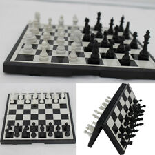 Magnetic Folding Chessboard Chess Board Box Set Portable Kids Game Toy Puzzle SP