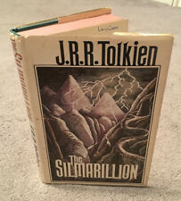 J.R.R. Tolkien - The Silmarillion HB/DJ 1st ed / 1st ptg w/ Father Error and Map
