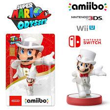 Mario White Outfit Amiibo Super Mario Odyssey Series Nintendo Switch 3DS Wii U
