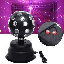 RGB Disco Ball DJ Stage Party LED Light Rotating Motor 30W Spotlight Kit KTV USA