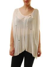 One Teaspoon Ladies T-Shirt White Size XS RRP € 86 BCF71