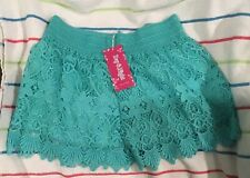 New Women's Lace Shorts Size S
