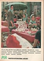 1967 Original Advertising' Pia Pakistan International Airlines Beauty