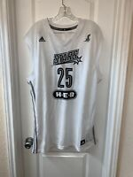 Adidas San Antonio Silver Stars Becky Hammon WNBA Size Large Basketball Jersey