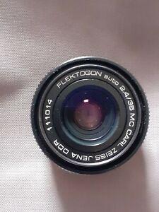 CARL ZEISS JENA DDR FLEKTOGON Auto 35mm f/2.4 M42 Mount Camera Lens