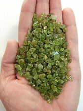 Tumbled Peridot Crystals 1/2Lb Mix Gemstones Rocks Small Stones Chips Olivine