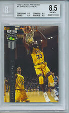 1992 CLASSIC PREVIEWS SHAQUILLE O'NEAL 1 BGS NM-MT+ 8.5 .5 FROM MINT 1 OF 10,000