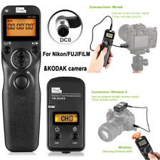Pixel TW-283 DC0 LCD wireless Timer Remote Control Shutter For Nikon Fujifilm
