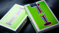 Vintage Feel Jerry's Nuggets Green Playing Cards 1 Deck New