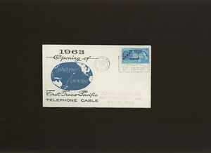 1963 Cable Phosphor illustrated FDC relevant London WC First Day slogan. Cat 100