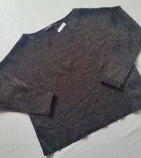 HALLHUBER Pullover schwarz silber XL oversize ****NEU