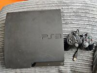 FAULTY Playstation PS3 Slim CECH-3003A Console & Controller - FREE P&P!