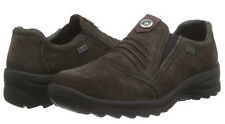 Rieker Tex Damen Schuhe Halbschuhe Slipper in Grau-Braun L7174-45 WOW Preis