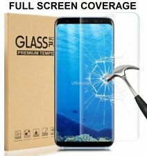100% Tempered Full Glass Lcd Screen Protector Film For Samsung Galaxy S8 Clear
