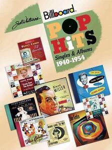 Joel Whitburn's Pop Hits 1940-1954: Singles & Albums- EX cond