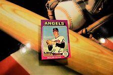 1975 Nolan Ryan Topps Mini Set Break NM Mint Angels Mets Hall of Fame # 500 ***