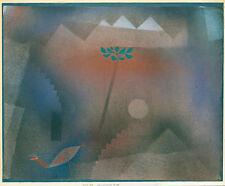 Bird Wandering Off by Paul Klee 1926 60cm x 49.5cm High Quality Art Print